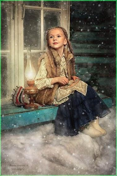 Девочка и лампа