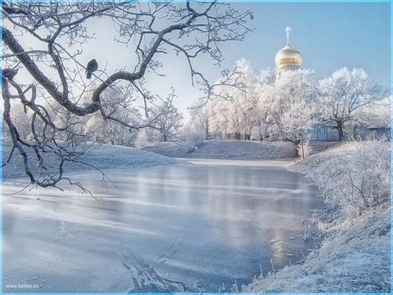 Зима и купол