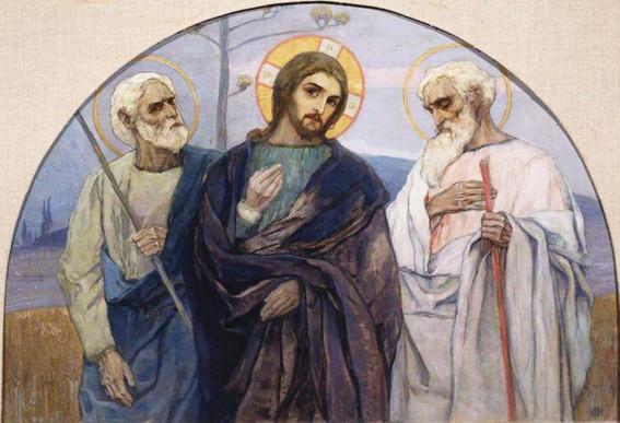 Господь на пути в Еммаус