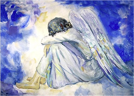 Ангел плачет