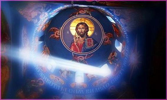 Господь на куполе