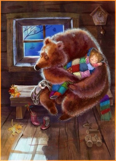 Медведь и машенька