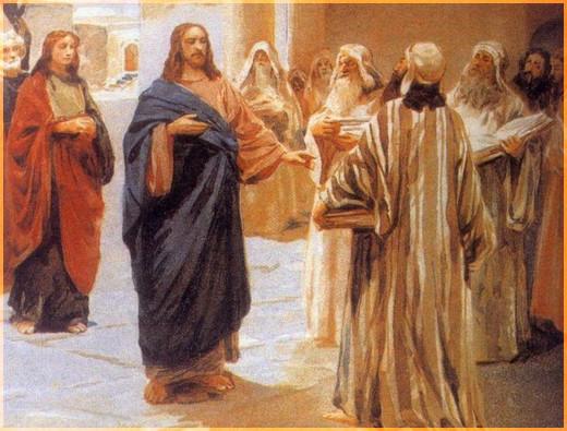 Иисус обличает книжников и фарисеев