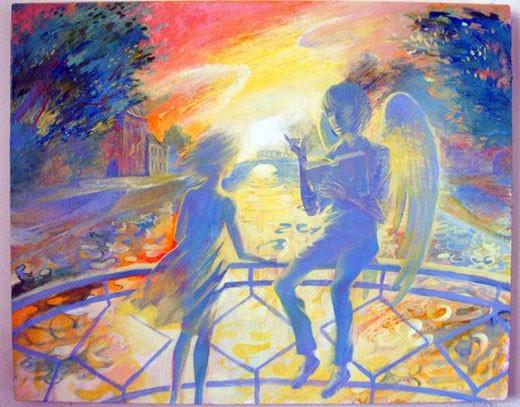 Ангел и девочка