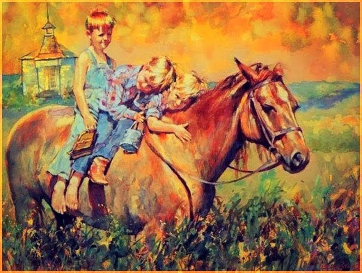 На лошадке 2