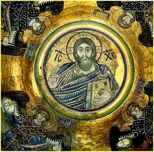 Фреска Софийского собора в Киеве