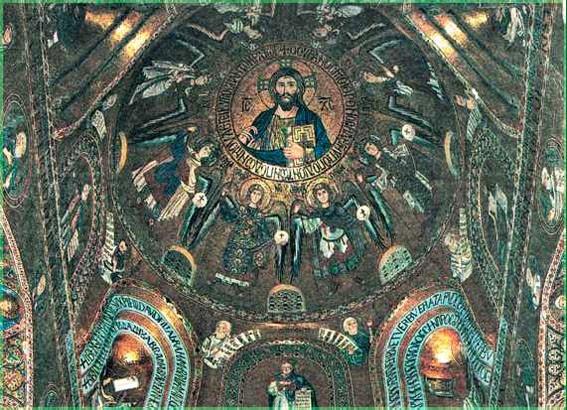 Господь Пантократор Византия