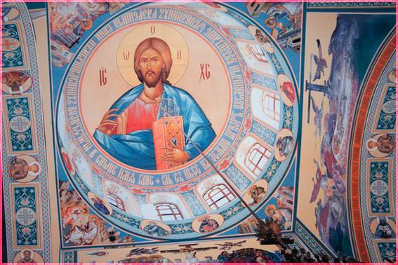 Господь на куполе 2