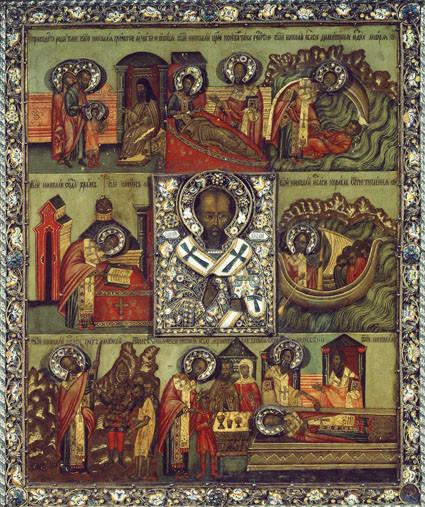 Свт Николай Чудотворец с житием