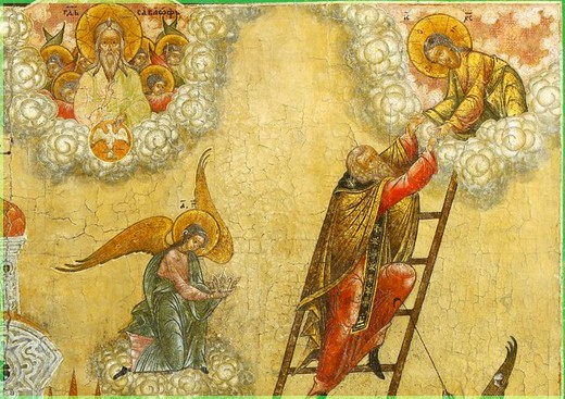 На лестнице к Богу