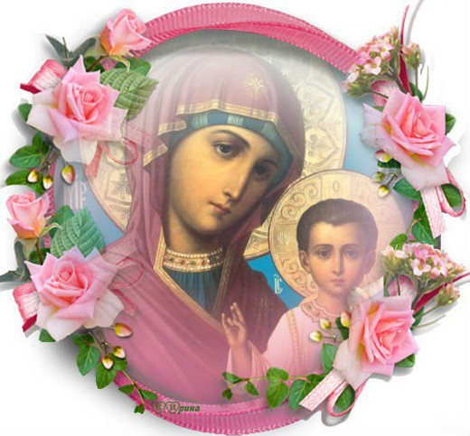 Казанская икона Божией Матери11
