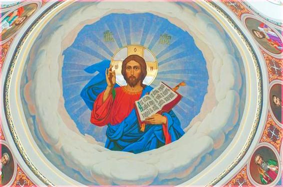 Господь на куполе 8