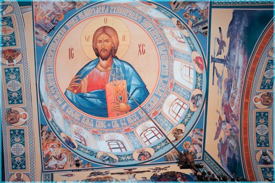 Господь на куполе 11