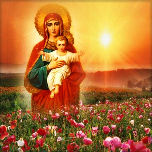 Пресвятая Богородица - сияние Любви
