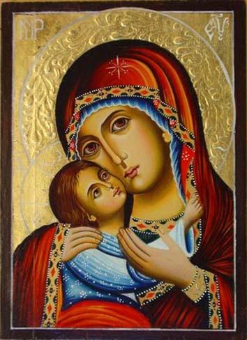 Икона Пресвятой Богородицы 9