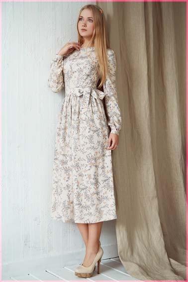 В платье 3