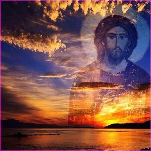 Господь и закат