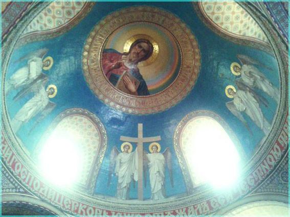 Господь на куполе 10