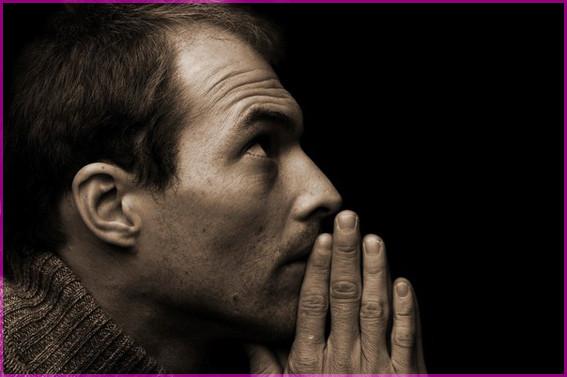 Молитва мужчины