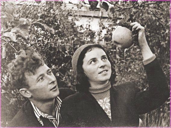 Константин Ваншенкин с супругой Инной