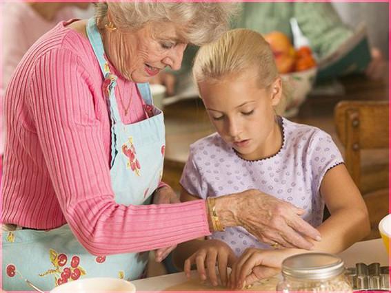 С бабушкой 3
