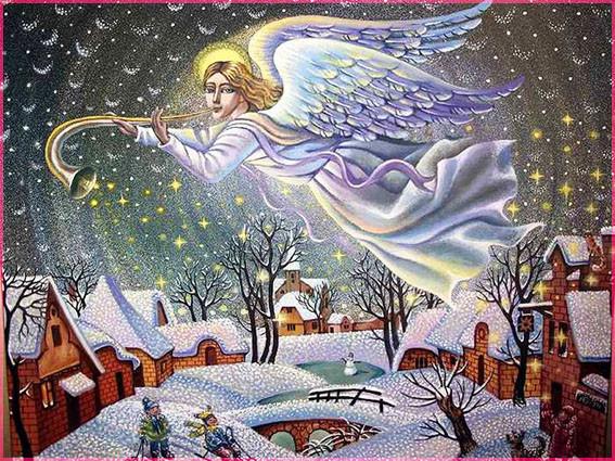 Ангел Рождества 6