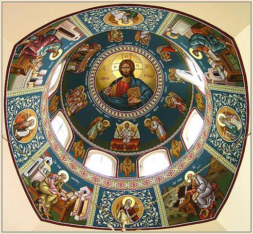 Господь на куполе 17