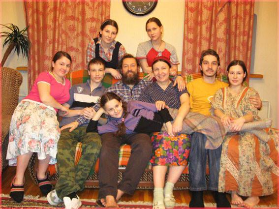 Семья матушки Ольги Юревич