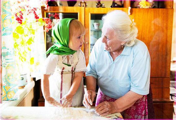 С бабушкой 4