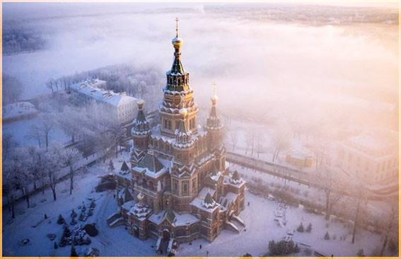 Собор Св. Петра и Павла, Петергоф