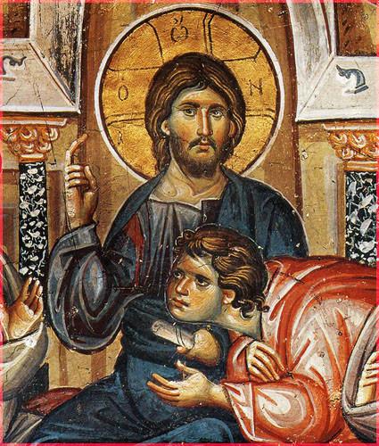 Нач. XIV в, фрески монастыря Ватопед, Афон 1