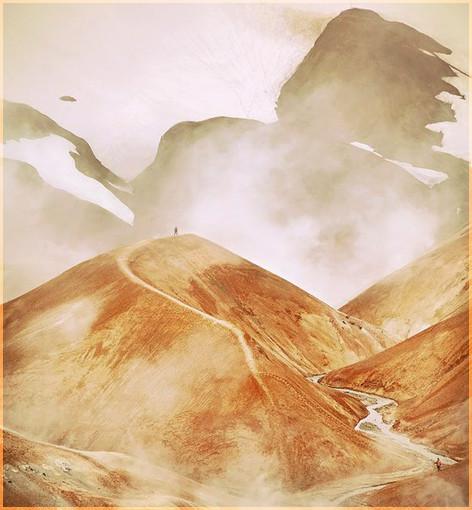 Путь в горах