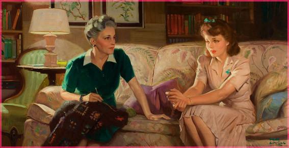 С мамой -Том Ловелл
