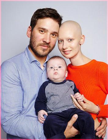 Елизавета с мужем и сыном