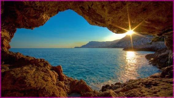 Солнце из пещеры