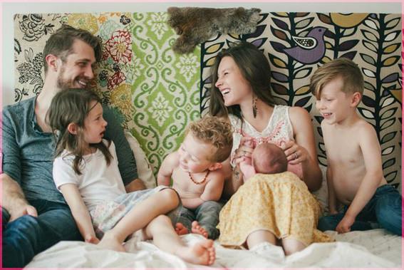 4 детей 5