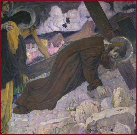 Несение креста Нестеров Михаил