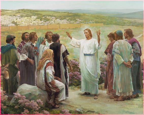 Господь Иисус Христос и апостолы