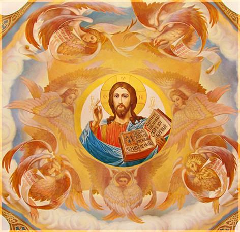 Господь на куполе 3