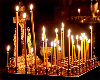 Поминальные свечи