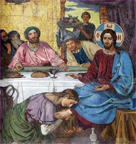 У ног Христа