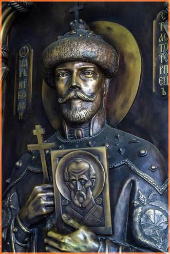 Входная дверь Никольского собора, Киевского Покровского жен м-ря