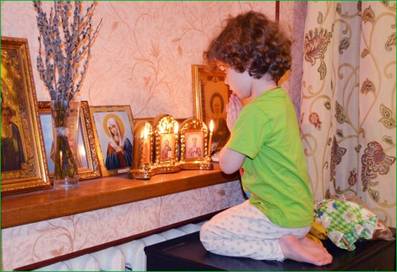 Детская молитва 4
