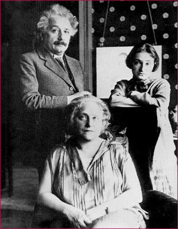 Альберт Эйншейн и его семья