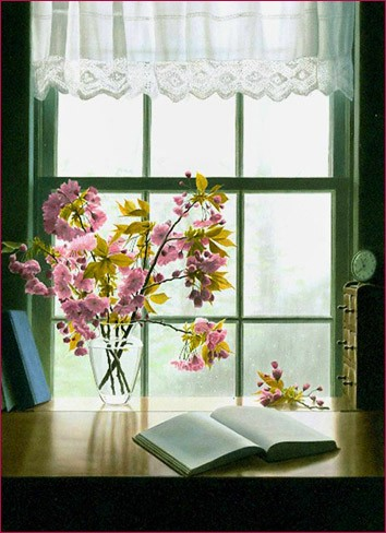 Букет на окне 1