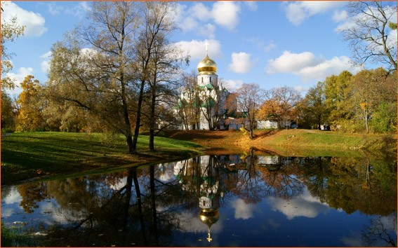 Церковь Санкт-Петербург