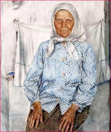 Александр Дудин. Бабушка. Фрагмент