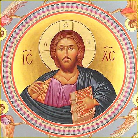 Господь в куполе храма 4