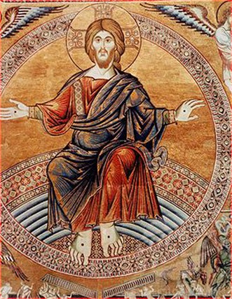 Byzantine art of Jesus