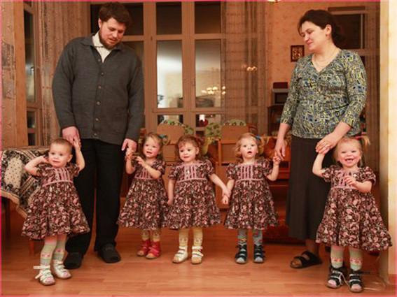 5 дочек